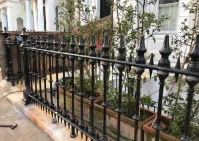 Railing Repairs, Ladbroke Gardens, London W11