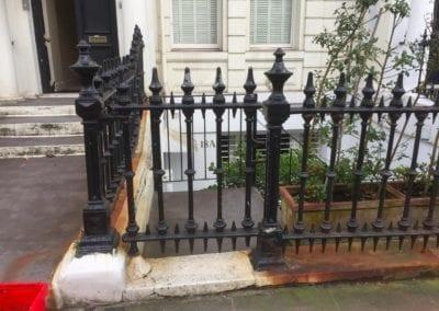 Railing Repairs, Ladbroke Gardens, London W11 10