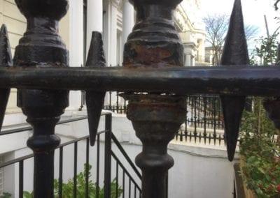 Railing Repairs, Ladbroke Gardens, London W11 11