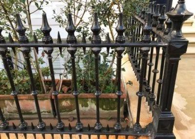Railing Repairs, Ladbroke Gardens, London W11 2
