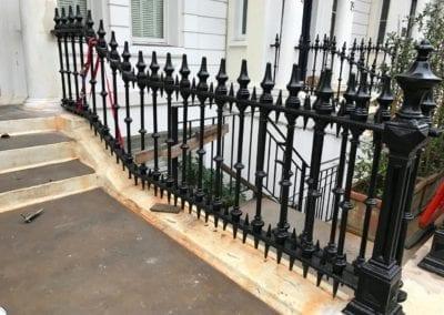 Railing Repairs, Ladbroke Gardens, London W11 3
