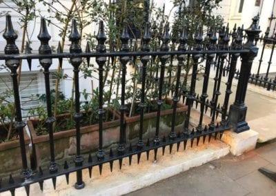 Railing Repairs, Ladbroke Gardens, London W11 4