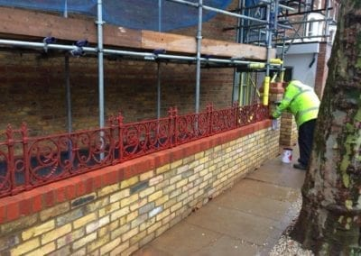 Railing Repairs, West Kilburn, London W9 1