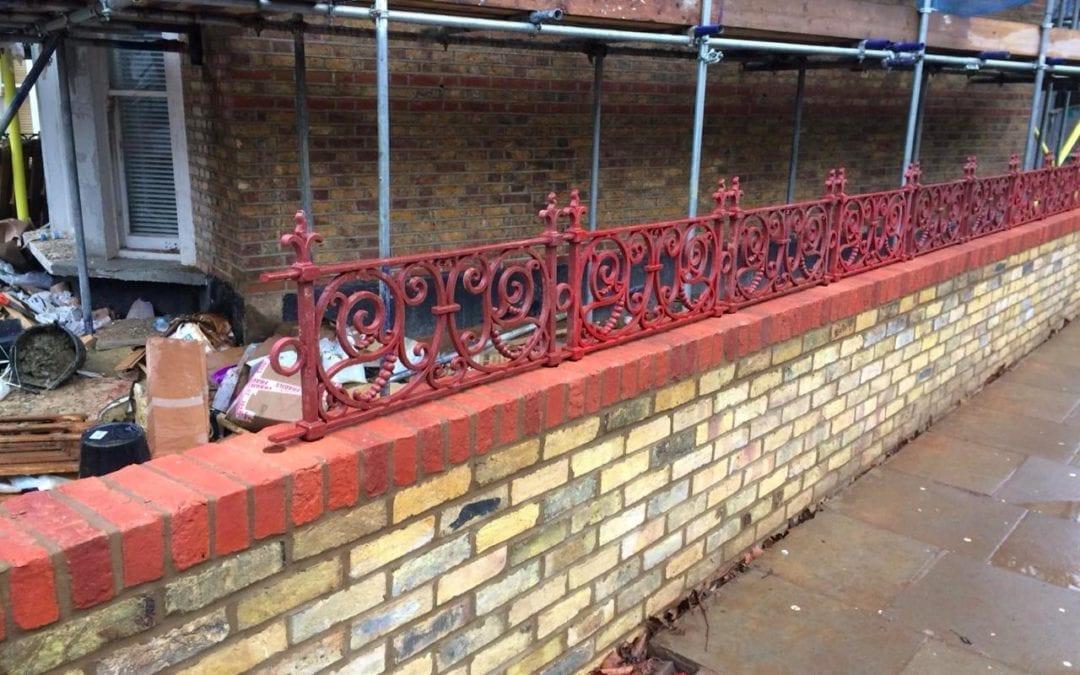 Replacement Railings, West Kilburn, London W9