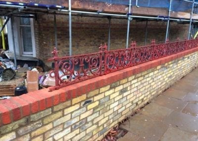 Replacement Railings, West Kilburn, London W9