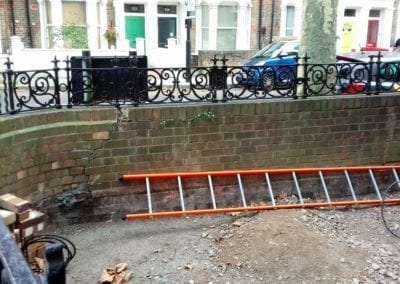 Railing Repairs, West Kilburn, London W9 5