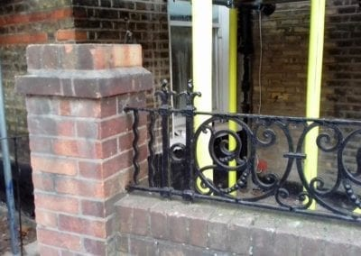 Railing Repairs, West Kilburn, London W9 6