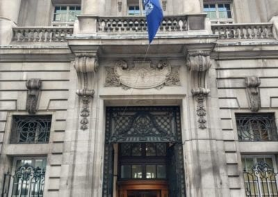 Repair of the Entrance Gates, Royal Automobile Club, 89 Pall Mall, St. James's, London SW1
