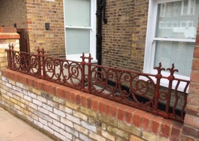 Railing Repairs, West Kilburn, London W9 2