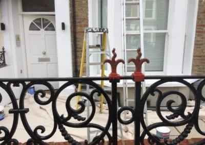 Railing Repairs, West Kilburn, London W9 3