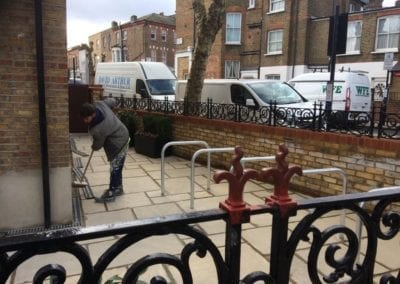 Railing Repairs, West Kilburn, London W9 4