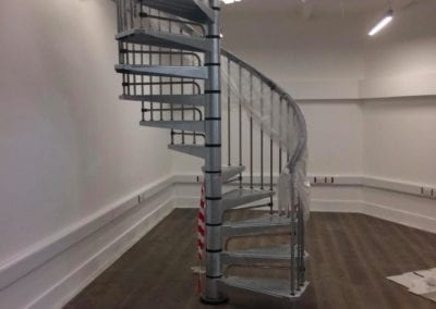 Metal Spiral Staircase for Historic London Building 1