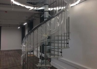 Metal Spiral Staircase for Historic London Building 2