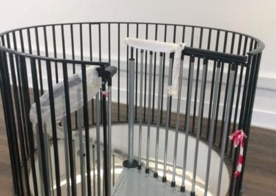 Metal Spiral Staircase for Historic London Building 6