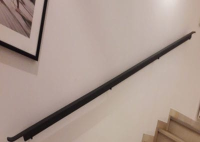 Simple Steel Handrail Fabrication Loughton Essex 2