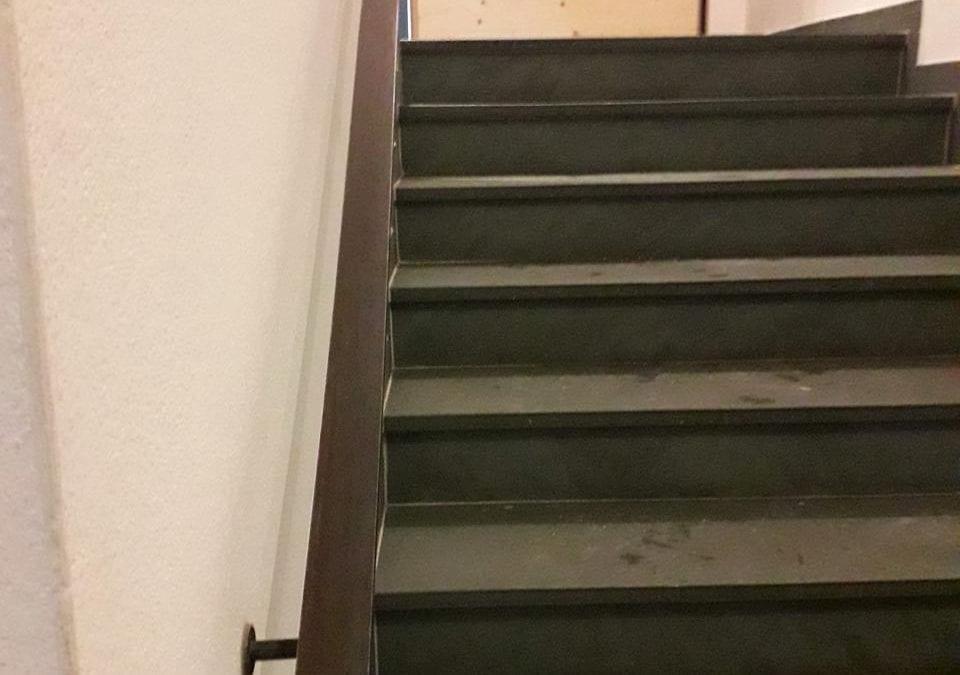 Steel Handrail for Shoreditch Bar, London