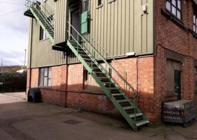 Fire Escape Survey, Cuxton, Kent