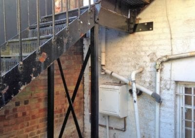 Metal Staircase and Fire Escape Surveys 2