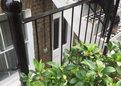 Railing & Handrail Repairs, K+K George Hotel, Kensington, London SW5 02