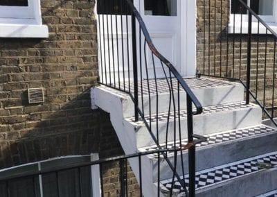 Railing & Handrail Repairs, K+K George Hotel, Kensington, London SW5 06