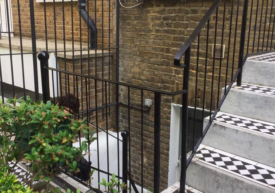 Railing & Handrail Repairs, K+K George Hotel, Kensington, London SW5
