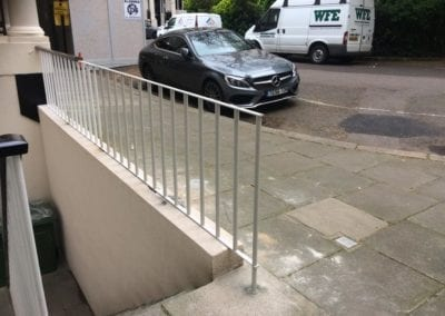 Railing Repairs, Knightsbridge, London SW7