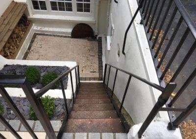 Bespoke Railings, Handrail and Gate Arch, London NW3 3
