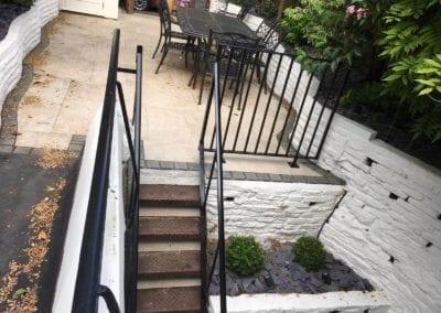 Bespoke Railings, Handrail and Gate Arch, London NW3 4
