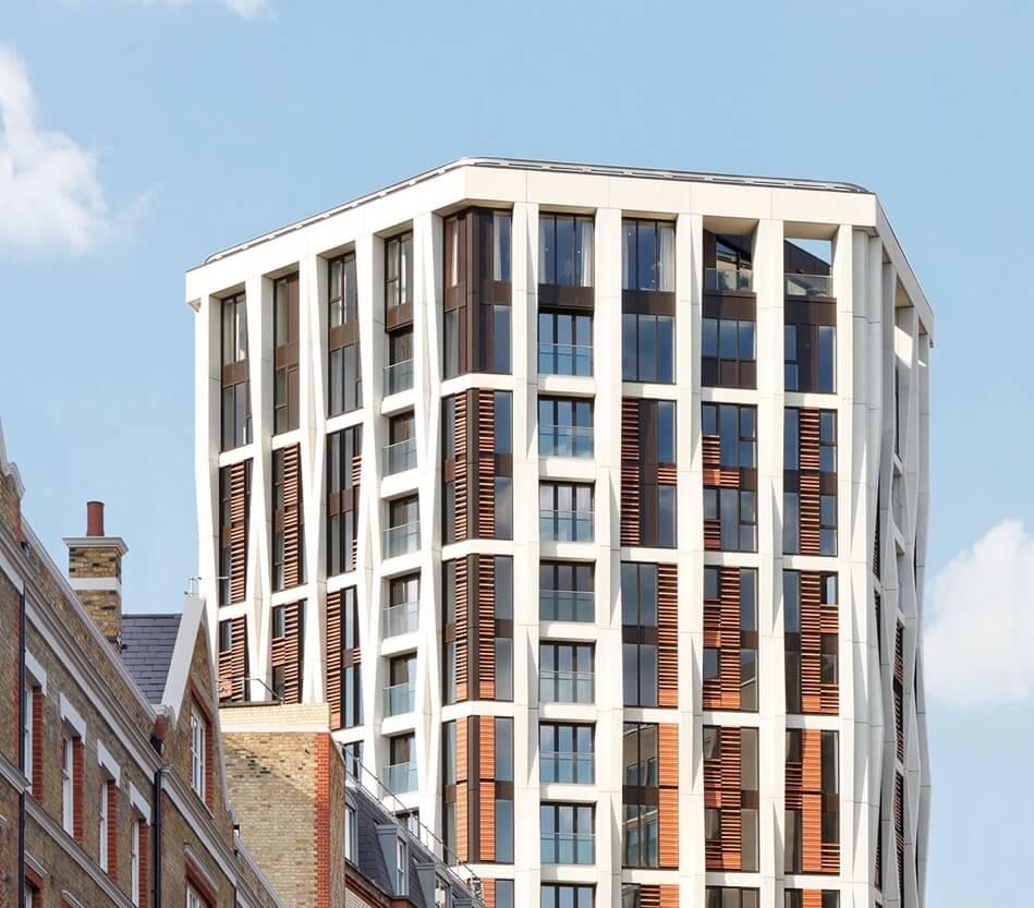 London Apartments: Bespoke Internal Staircase, Holborn, London WC2