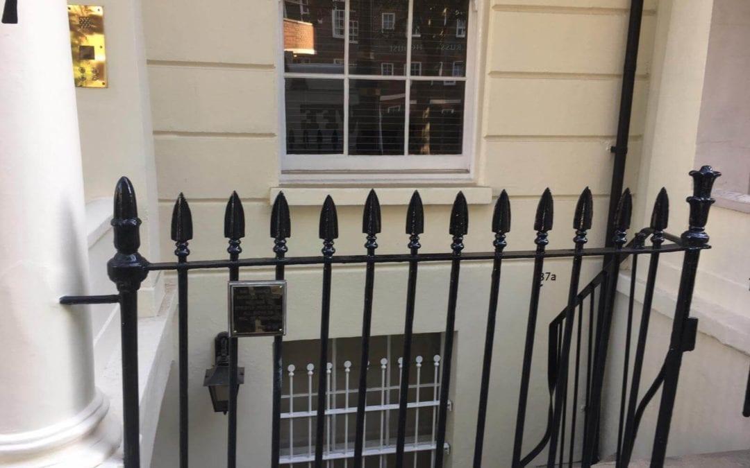 Metal Gate Repairs London SW1, Replacement of Missing Finial