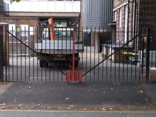 Gate Repairs for the University of the Arts, Wimbledon London SW19