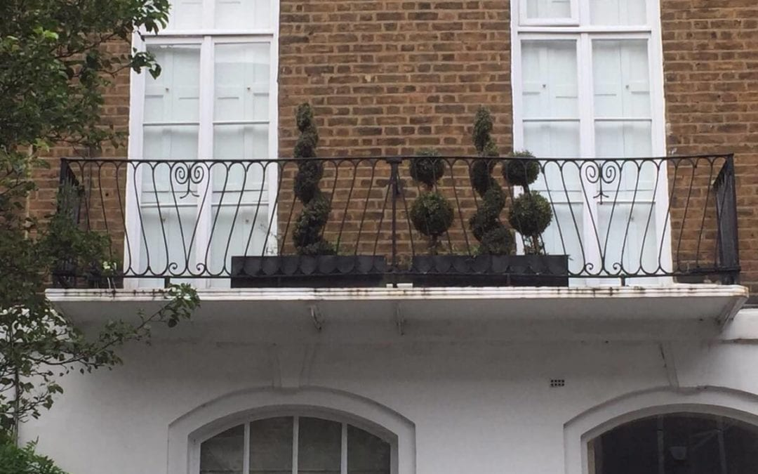 Balcony Balustrade Repairs, London W1