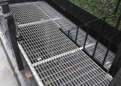 Grating for Staircase Stairwell, London W1 02
