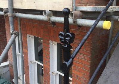 Railing Repairs, Battersea, London SW11 02