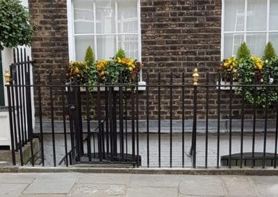 Repairs to Grade II Listed Railings, London EC1
