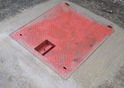 Hinged Manhole Cover and Frame, Kidbrooke, London SE3
