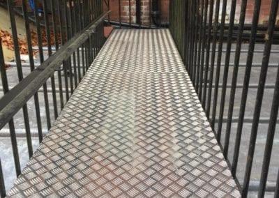Metal Platforms and Walkways, Nursery, St. Alban's, Hertfordshire 1