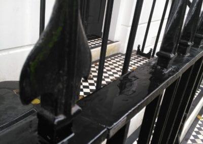 Railing Repairs, London SW3 4