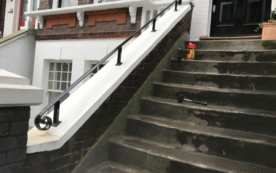New Entrance Handrail, London NW3