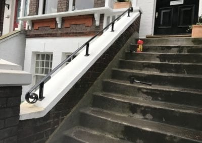 New Entrance Handrail, London NW3