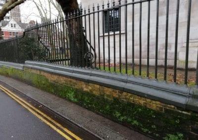 Railing Repairs, St. Luke's, Old Street, London EC1 2