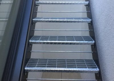 Internal Metal Staircase with removable treads, Richmond, Surrey