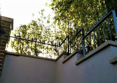 New Railing Panels and Finials, Hampstead, London NW3 1