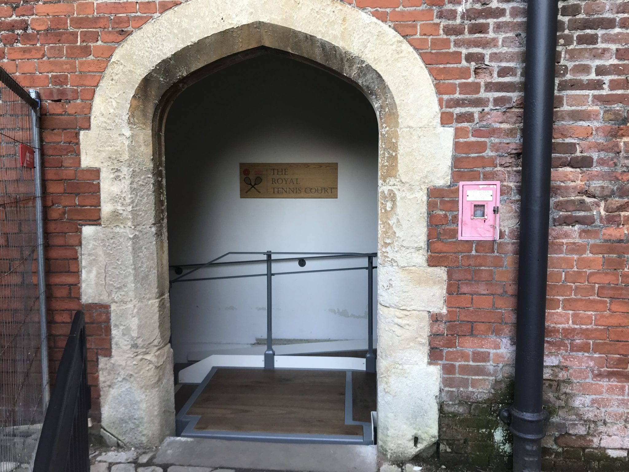 Ramp for the Royal Tennis Court at Hampton Court Palace 7