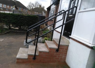 New Handrails for Front Entrance Steps, Chingford, London E4