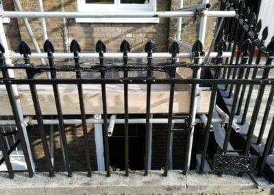 Railing Repairs, Islington, London N1 3