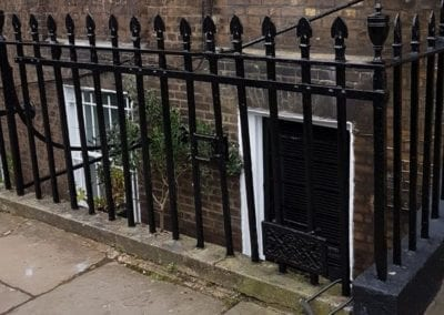 Railing Repairs, Islington, London N1