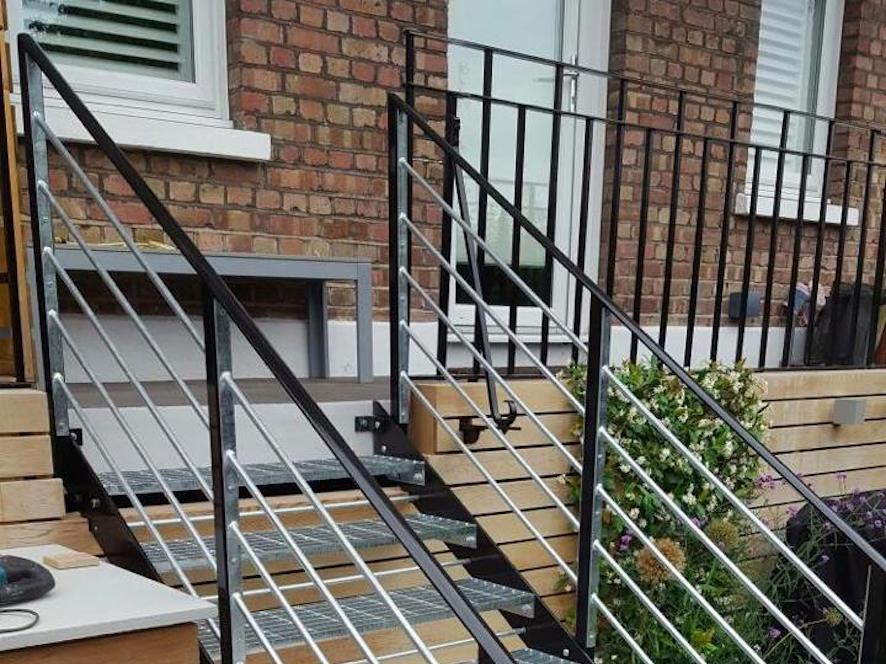 Metal Staircase Fabrication