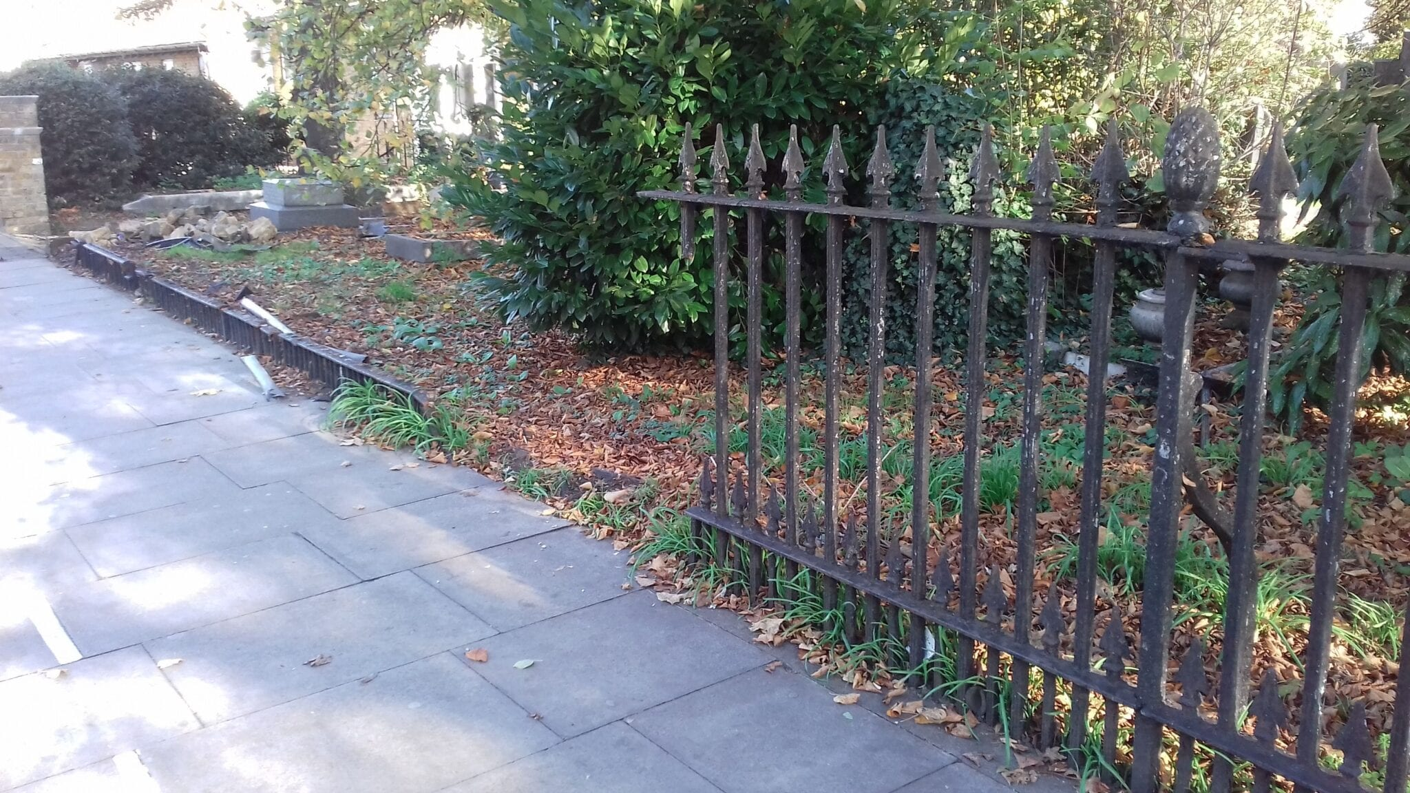 Second Major Railing Repair Project, Grade II Listed St. James' Church, Enfield 7