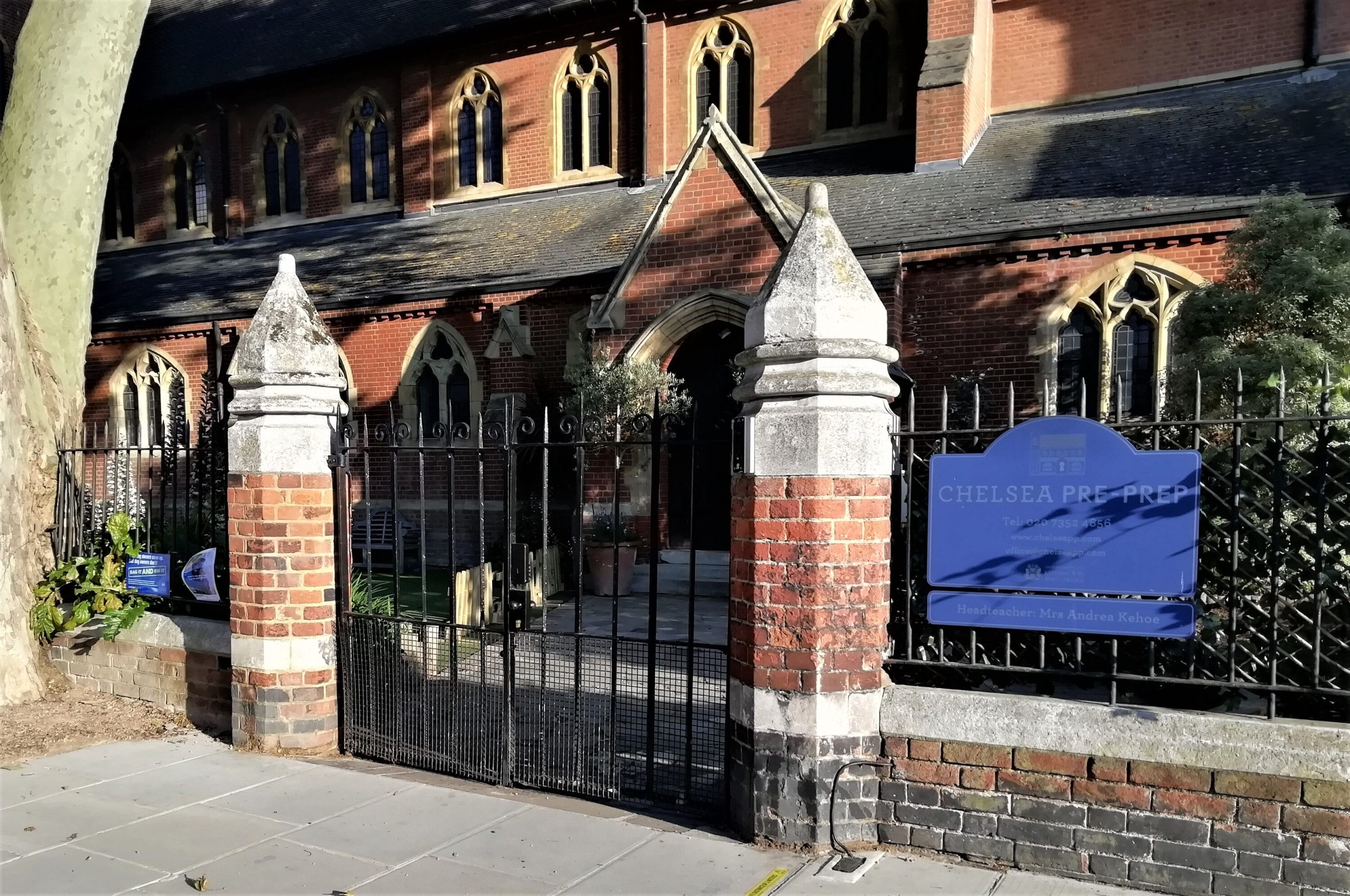 Repair of Entrance Gate, Chelsea Pre-Prep, London SW10 5